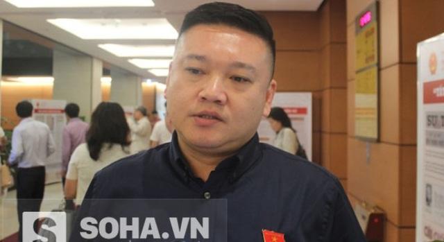 Đại biểu Đỗ Mạnh Hùng, Phó Chủ nhiệm Ủy ban về các vấn đề xã hội của Quốc hội.