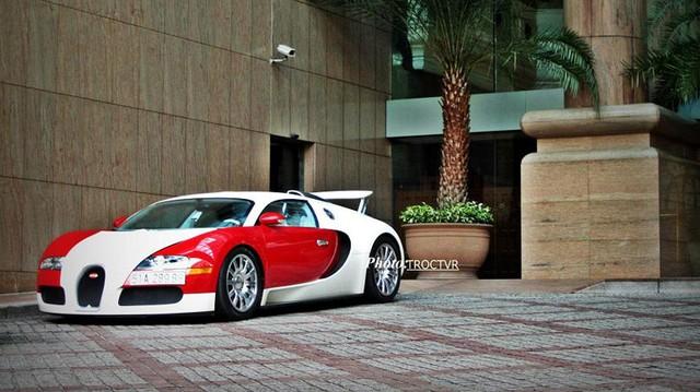 Siêu xe Bugatti Veyron độc nhất tại Việt Nam của Minh Nhựa.