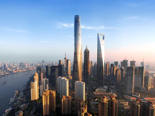Shanghai Tower, Thượng Hải, Trung Quốc. Ảnh: gensler