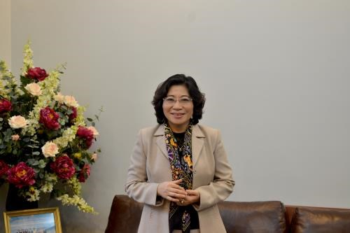 Thứ trưởng Phan Thị Mỹ Linh