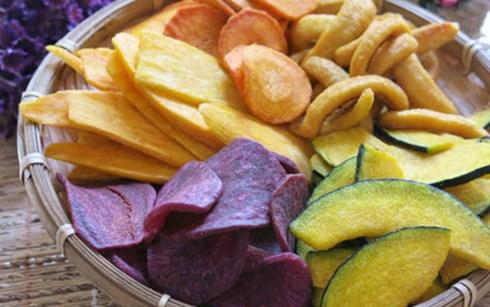 Hoa quả sấy - đặc sản của Đà Lạt