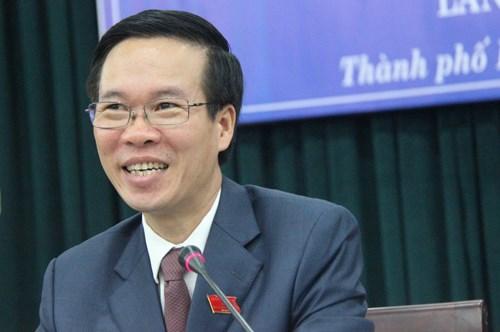 Ông Võ Văn Thưởng - Phó Bí thư Thường trực TP.HCM