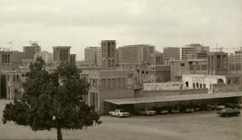 Các công trình kiến trúc đơn sơ 60 năm trước.
