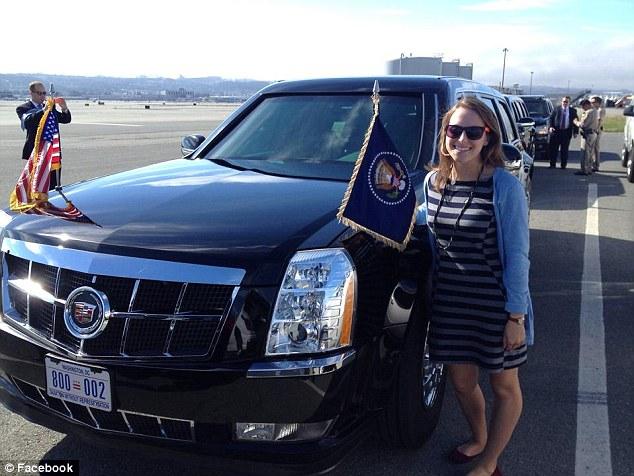 'Natalie trở thành lái xe riêng cho Tổng thống Mỹ khi chỉ mới là cô sinh viên 24 tuổi.'