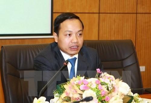 Thứ trưởng Bộ tư pháp Trần Tiến Dũng (Ảnh: TTXVN)
