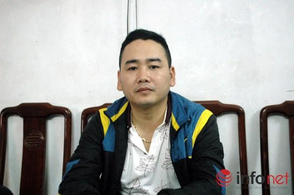 Ông Nguyễn Thành Phúc - Trưởng ban quản lý chợ Vân Trì trao đổi với PV Infonet.