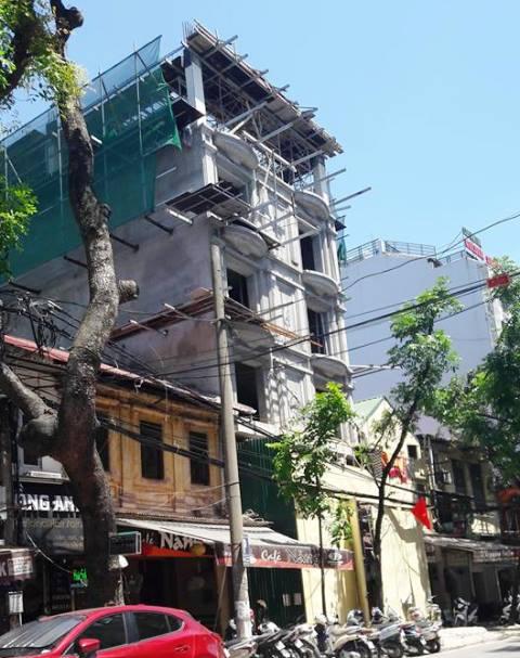 Công trình số 30B Nguyễn Hữu Huân vẫn chưa được cưỡng chế