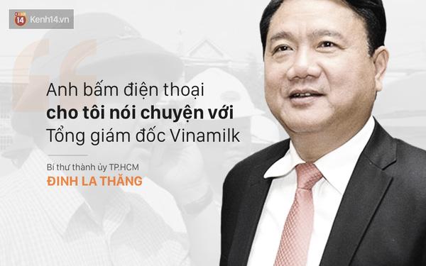 Ông Thăng phê bình Chủ tịch huyện chưa gặp Tổng giám đốc Vinamilk thì sao biết nguyên nhân bà con bán không được sữa