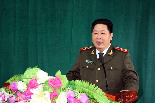 Trung tướng Bùi Văn Thành.