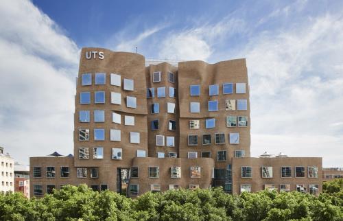 Tòa nhà Dr Chau Chak wing, Sydney, Úc. Ảnh: thedesignfiles