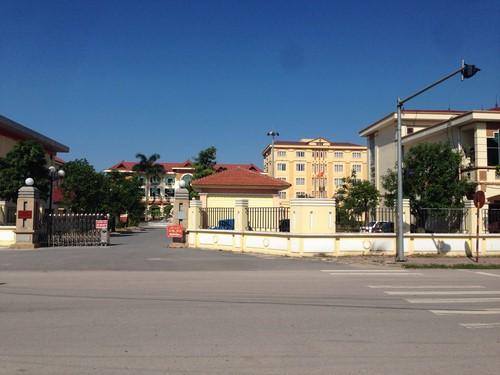 Trụ sở HĐND và UBND huyện Yên Dũng, tỉnh Bắc Giang.