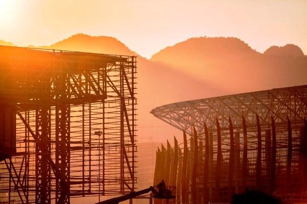Công trình phục vụ Thế vận hội mùa hè ở Rio de Janeiro