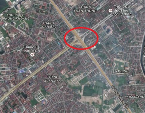 Nút giao 4 tầng hiện đại nhất thủ đô nằm tại điểm giao cắt của đường vành đai 3 (gồm tuyến trên cao và mặt đất) với tuyến đường Nguyễn Trãi huyết mạch nối từ phía tây nam vào trung tâm Hà Nội. Đây được coi là nút giao quan trọng bậc nhất thủ đô với mật độ phương tiện lưu thông dày đặc.