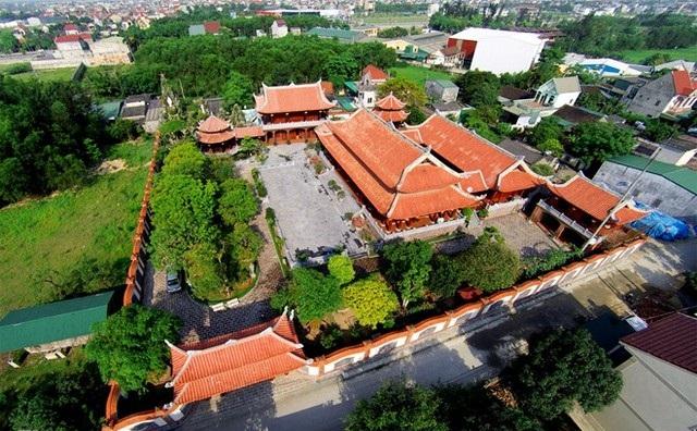 Toàn bộ biệt phủ có diện tích 4.000 m2