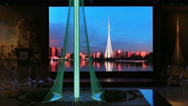 Chủ tịch tập đoàn Emaar, ông Mohamed Alabbar cho biết, tòa tháp mới trị giá khoảng 1 tỉ USD và sẽ cao hơn tòa Burj Khalifa một bậc.
