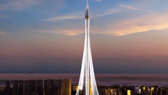 """Tuy nhiên, ông này cũng không tiết lộ cụ thể chiều cao của tòa tháp. """"Chiều cao cuối cùng của tháp sẽ được công bố sau khi hoàn thành"""", ông Mohamed Alabbar nói."""