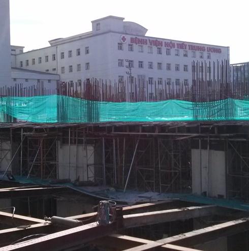 Các căn hộ tại đây đang được chủ đầu tư bán với giá từ 15-17 triệu đồng/m2