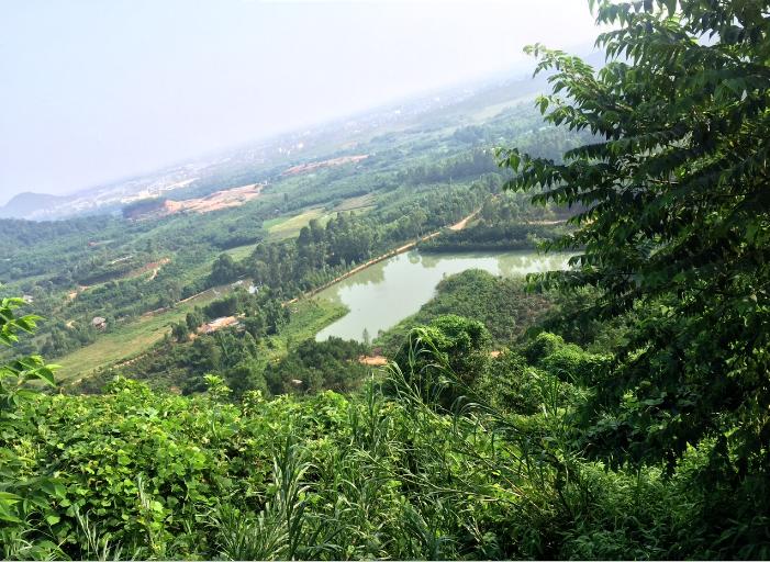 Địa điểm dự kiến sẽ xây dựng Công viên nghĩa trang Thiên An Viên tại Vĩnh Phúc