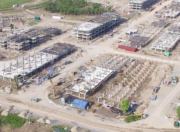 Theo kế hoạch, chủ đầu tư sẽ bắt đầu bàn giao những căn hộ đầu tiên tại đây sau 1 năm nữa.