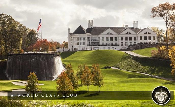 Đây là một trong rất nhiều sân Golf trị giá 20 triệu USD của ông tại Washington DC. Ảnh: TTB
