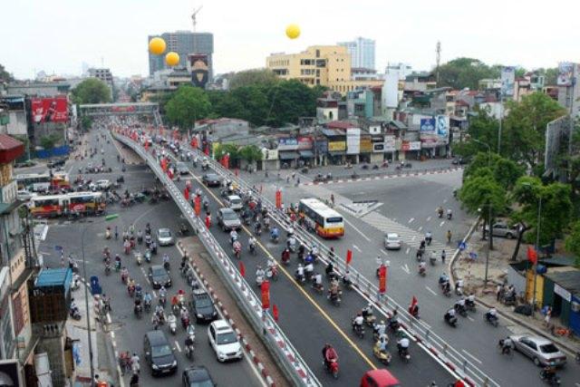 Những chiếc cầu vượt mới sẽ giảm tải áp lực giao thông ở khu nội đô
