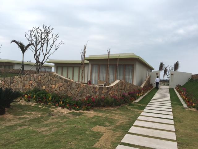 Giai đoạn 1 khu biệt thự nghỉ dưỡng cũng đã được khánh thành vào đầu tháng 2 năm 2016, hiện đang đi vào hoạt động