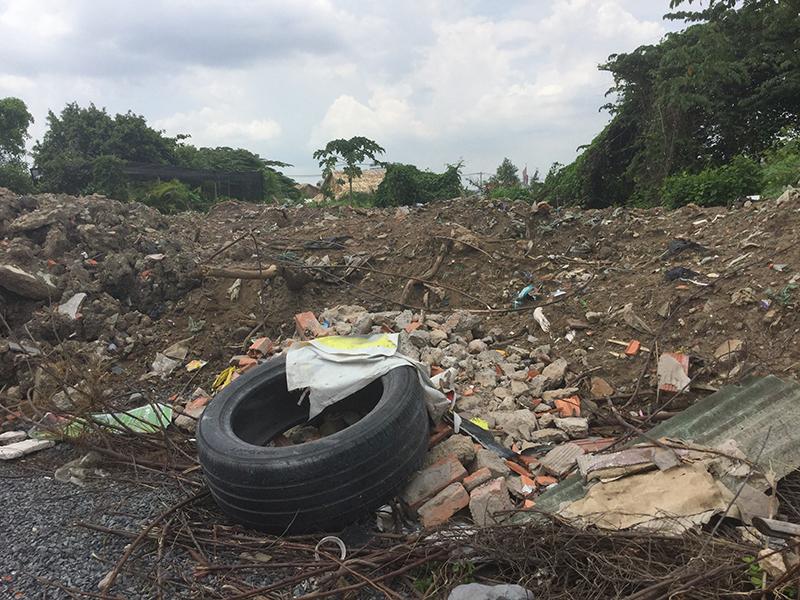 Đay cũng là một khu đất khác tại Thủ Đúc Phương Trang đang bỏ hoang.