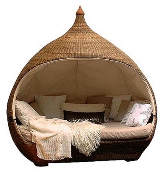 Một chiếc giường hình chiếc lồng chim phóng to cũng có thể khiến con bạn hào hứng với giấc ngủ.