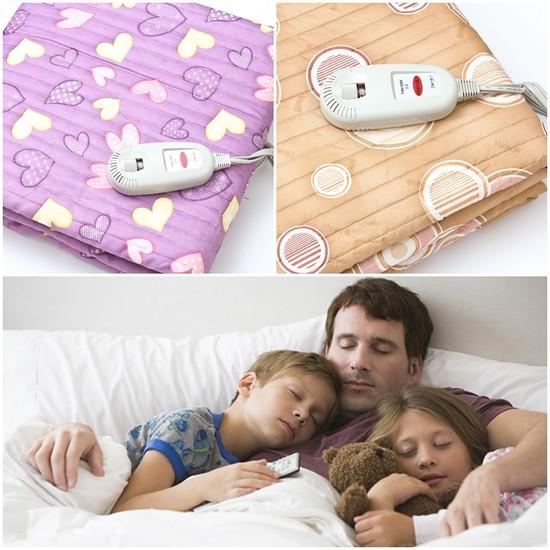 Với chiếc chăn điện cả gia đình nhà bạn sẽ được sưởi ấm trong mùa đông