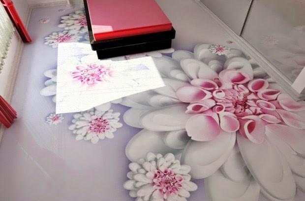 Với công nghệ sàn 3D căn phòng nhà bạn như được khoác tấm áo mới để đón mùa xuân này.