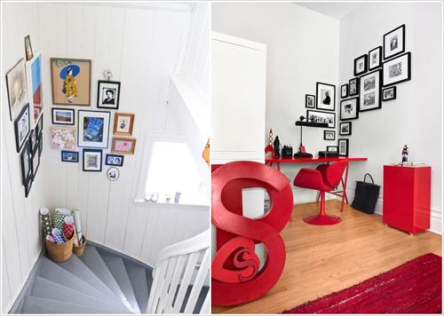 Biến tấu góc tường trở thành bức tranh sinh động, bừng sáng cả 1 góc nhà