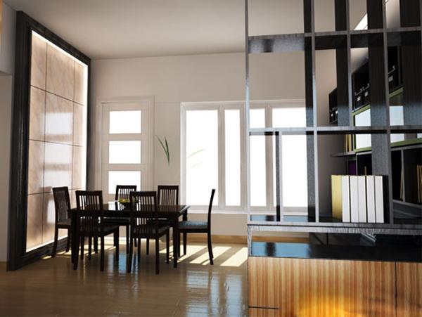 Không gian trong nhà được thiết kế vô cùng rộng rãi, thoáng mát.