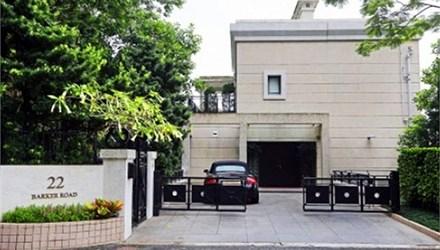 Ngôi biệt thự nằm trên đường Barker - con đường đắt đỏ nhất tại Hong Kong.