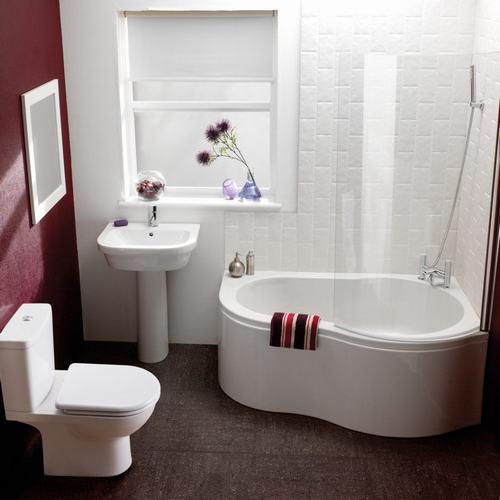 Trong một không gian chật hẹp, các vật dụng có kiểu dáng tròn sẽ là lựa chọn lý tưởng giúp phòng tắm trở nên rộng rãi hơn rất nhiều.
