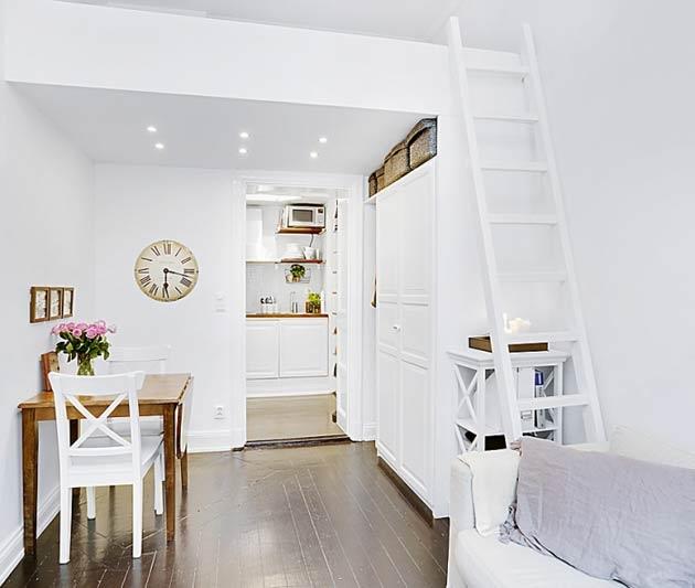 Sở hữu diện tích chỉ vẻn vẹn 16 m2 nhưng chủ nhân của căn phòng nhỏ này đã biết cách biến nó thành không gian sống tiện nghi, hiện đại, và vô cùng dễ chịu.