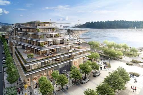 Grosvenor Ambleside đã cải tạo khu vực hoang vắng phía Tây Vancouver trở thành khu nghỉ dưỡng đẳng cấp, xa hoa