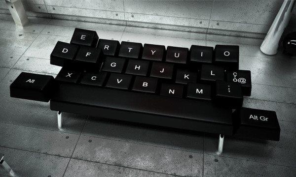 Nếu bạn là người yêu công nghệ đừng bỏ lỡ cơ hội sỡ hữu bộ sofa bàn phím này.
