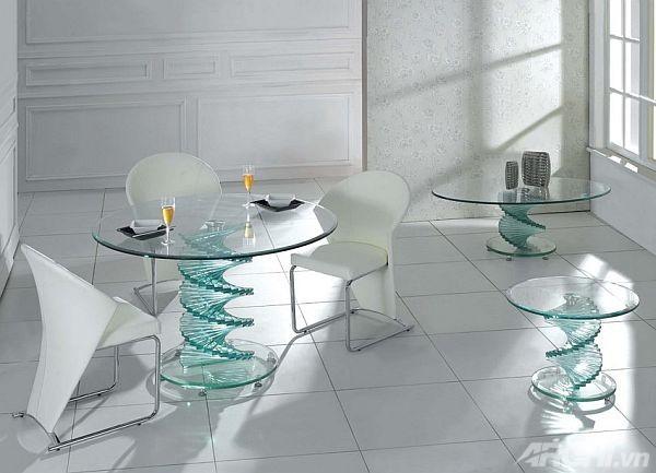 Bộ bàn trà nhỏ xinh thế này cũng sẽ là điểm nhấn độc đáo cho ngôi nhà của bạn.