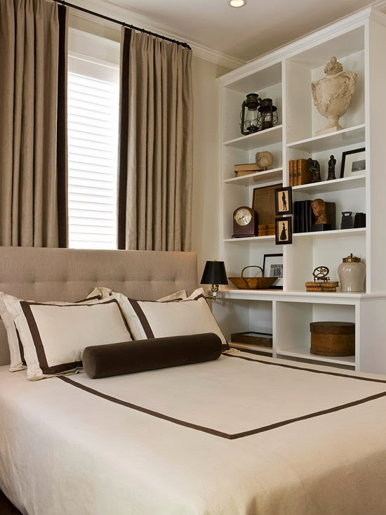 Hãy loại bỏ những vật trang trí không cần thiết hoặc rất ít khi dùng, không gian nghỉ ngơi của bạn sẽ gọn gàng và rộng rãi hơn rất nhiều.