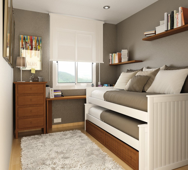 Nội thất đa năng là lựa chọn tối ưu cho những căn nhà diện tích nhỏ.