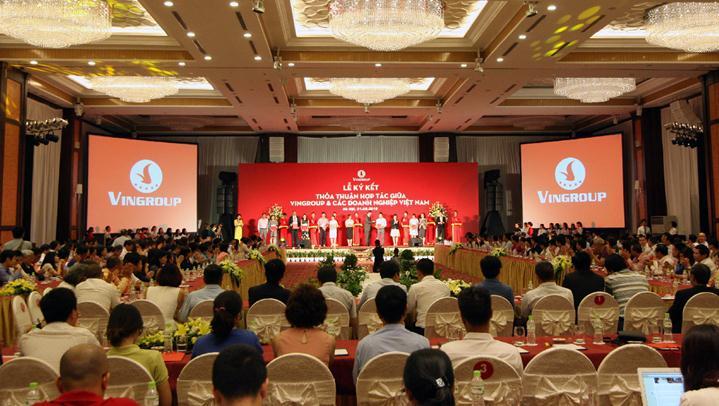 Một sự kiện kết nối sản xuất và phân phối được đánh giá là có quy mô lớn nhất trong ngành bán lẻ Việt Nam