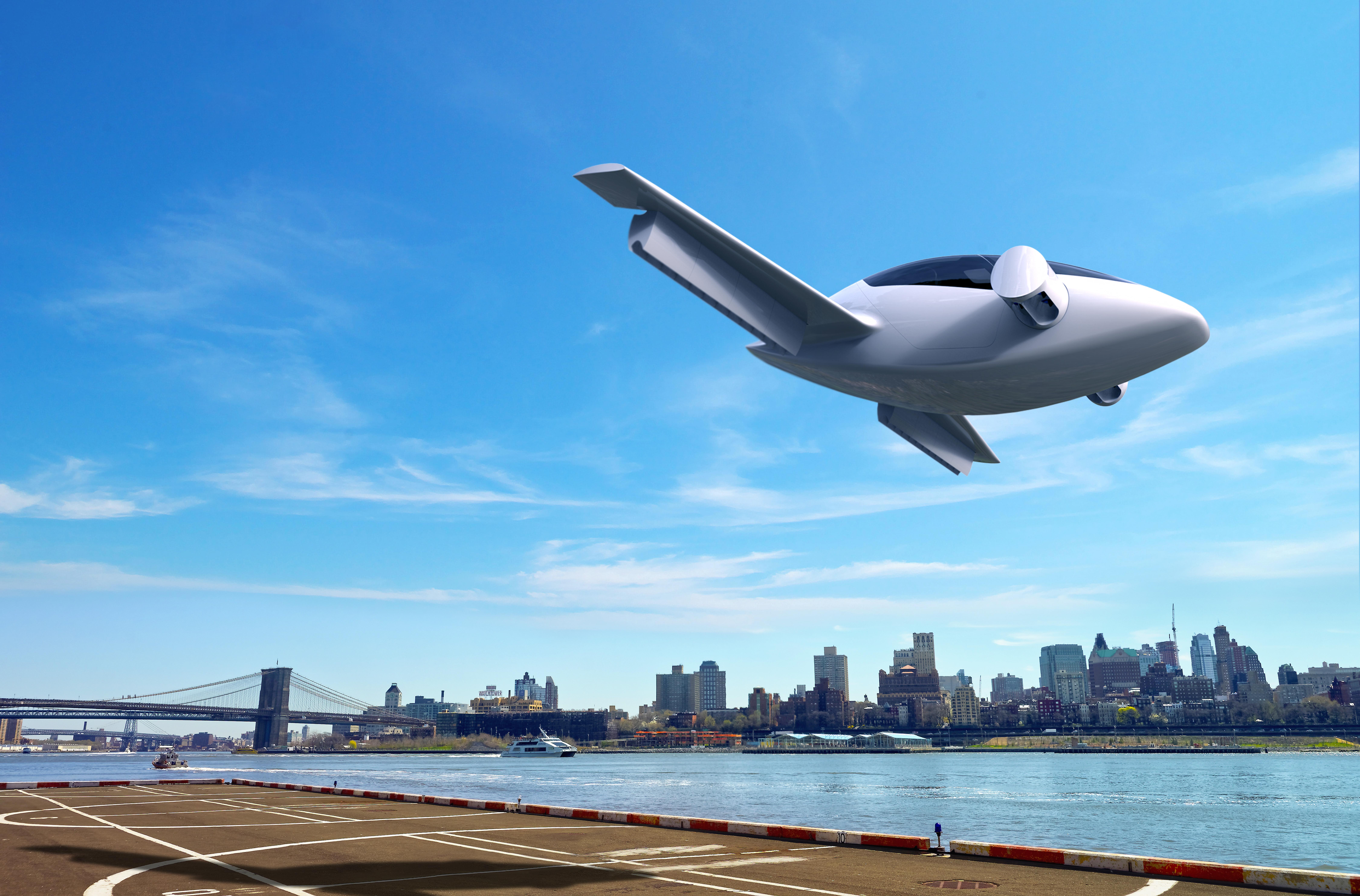 Lilium được thiết kế theo hình quả trứng, giúp nó tận dụng tối đa lợi thế khí động học. Đội ngũ thiết kế chiếc máy bay cho biết nó cần khoảng trống rộng khoảng 15 m để cất và hạ cánh. Máy bay có thể dễ dàng hạ cánh xuống bãi đáp dành cho trực thăng. Do sử dụng động cơ điện nên Lilium tạo ra tiếng ồn nhỏ, không làm phiền tới hàng xóm trong quá trình hoạt động. Ảnh: ESA
