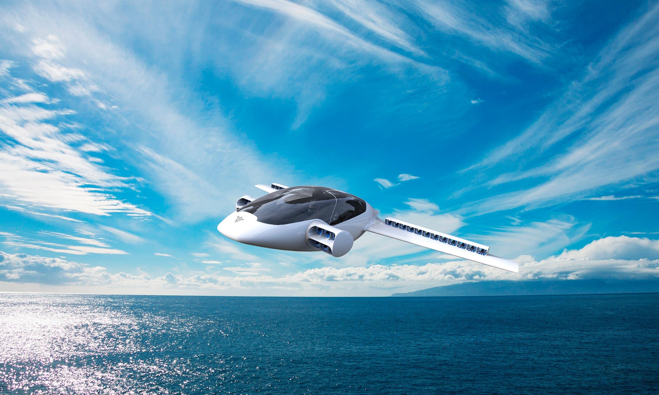 Công nghệ mới giúp Lilium hoạt động êm ái hơn so với trực thăng và các loại máy bay truyền thống. Tuy nhiên, nó vẫn đảm bảo cho máy bay di chuyển với vận tốc tối đa 400 km/h và phạm vi 500 km. Lilium có thể hoạt động tốt trong mọi điều kiện thời tiết nhưng không thể bay đêm. Ảnh: ESA