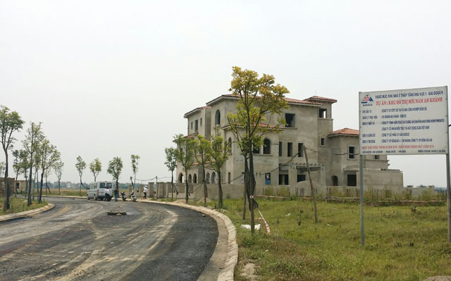 Mặc dù đã có kế hoạch đầu tư triển khai xây dựng đồng bộ khu đô thị nhưng đến nay tiến độ dự án này vẫn còn khá chậm.