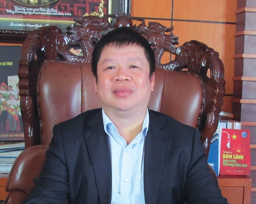 Ông chủ Tập đoàn Hoành Sơn -Phạm Hoành Sơn