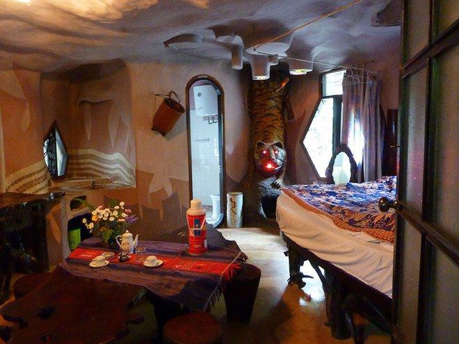 Nội thất bên trong những căn phòng này vô cùng đặc biệt.