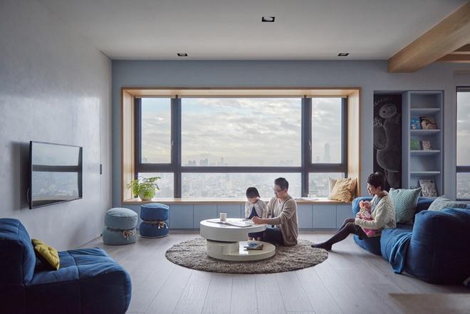 Việc thiết kế phù hợp với gia đình có con nhỏ khiến các thành viên có sự gắn kết với nhau.