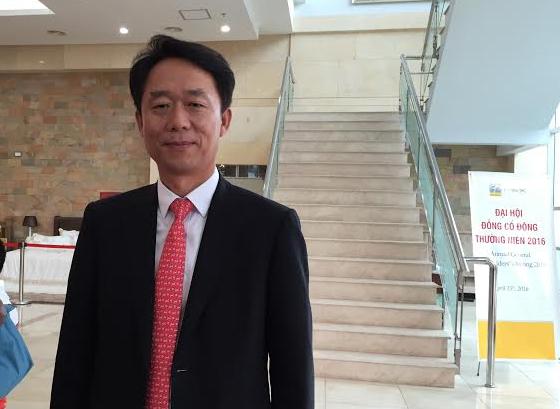 Ông Lee Jae Eun, Chủ tịch HĐQT Everpia