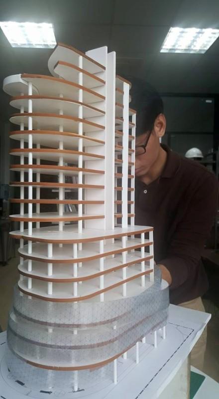 Đối tác đang thực hiện mô hình dự án The Khai mẫu để chuẩn bị giới thiệu với công chúng.