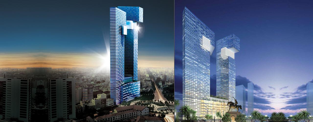 The ONE Ho Chi Minh City có vốn đầu tư dự kiến khoảng 500 triệu USD, được xây dựng trên diện tích khu đất rộng khoảng 8.600 m2, được bao bọc bởi bốn tuyến đường là Calmette, Lê Thị Hồng Gấm, Phó Đức Chính và Phạm Ngũ Lão thuộc Quận 1